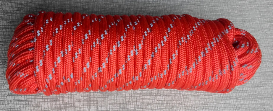 8mm Reflective Rescue Rope 20M